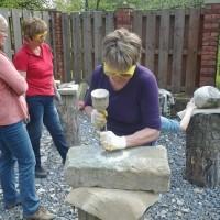 Workshop - dem Stein eine Form geben