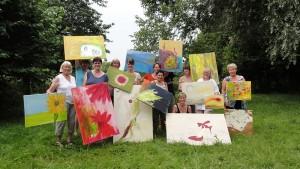OV Rehren-Idensen: Landfrauen im Farbenrausch