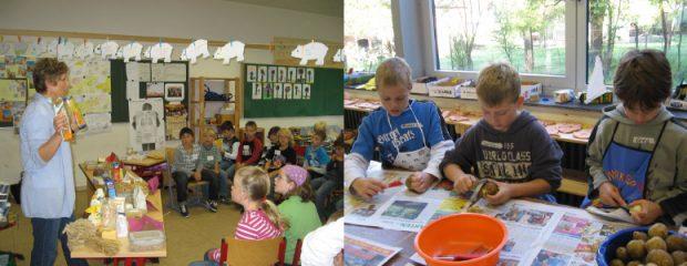 Kochen mit Kindern - ein Erfolgsprojekt seit 2005